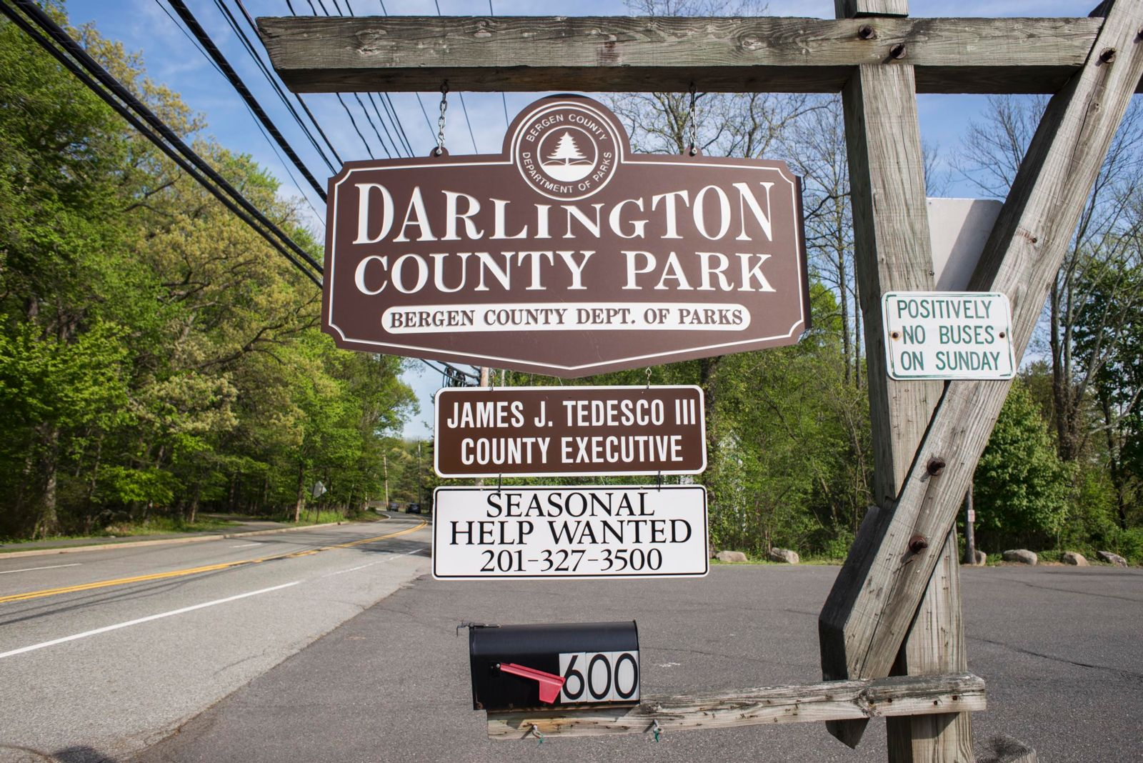 Darlington County Park Welcome Signs