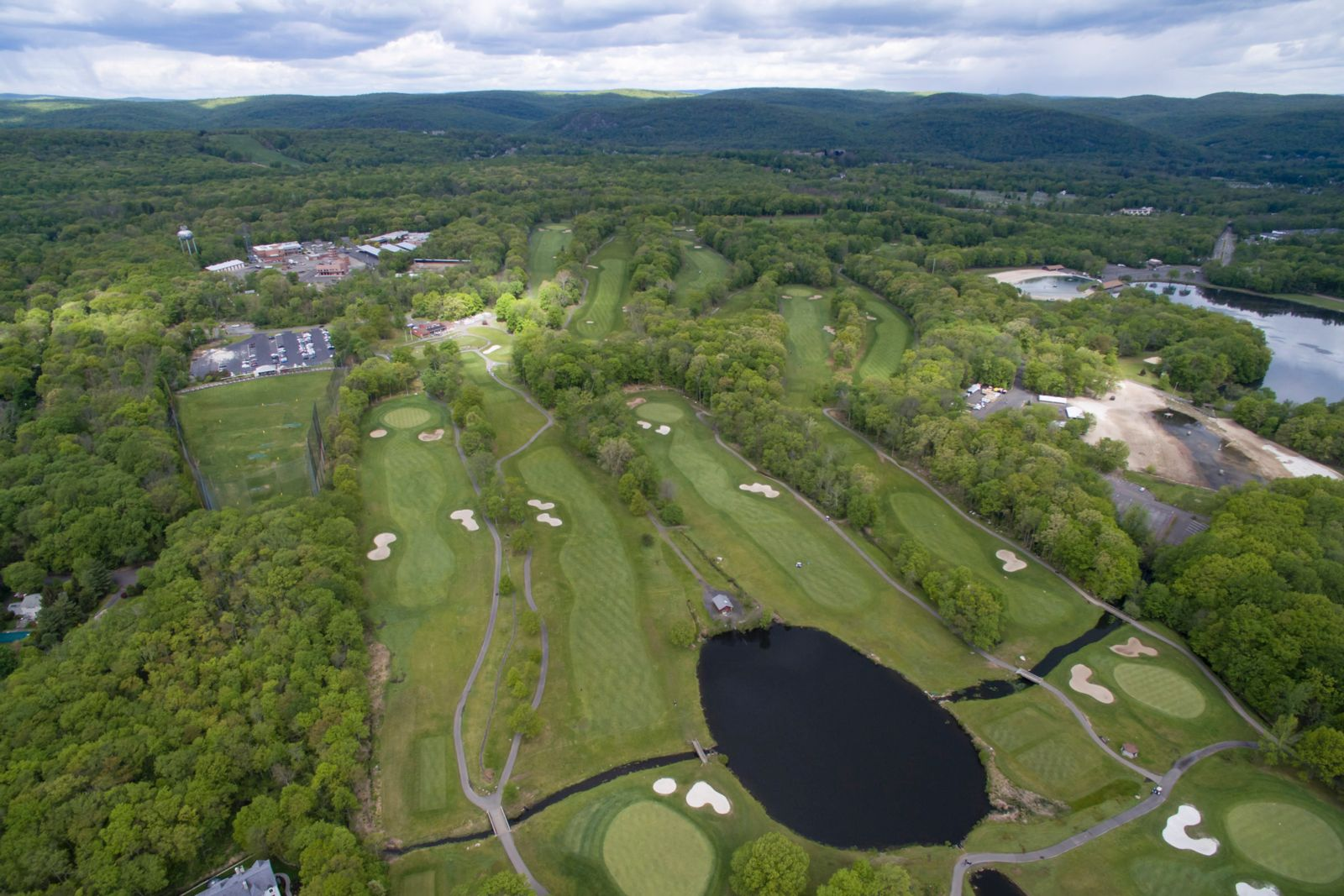 Bergen County Darlington Golf Course Aerial View