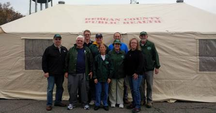CERT at the Western Shelter System Tents
