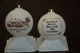 Memories of Mahwah New Jersey 1994 First Edition Ornament